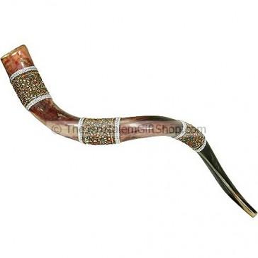 Decorated Yemenite Shofar