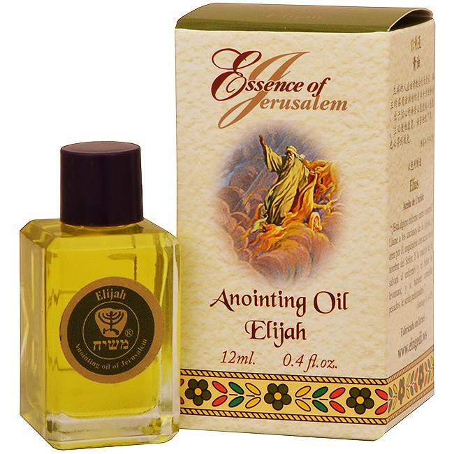 Holy 'Essence of Jerusalem' Anointing Oil - Elijah Prayer ...