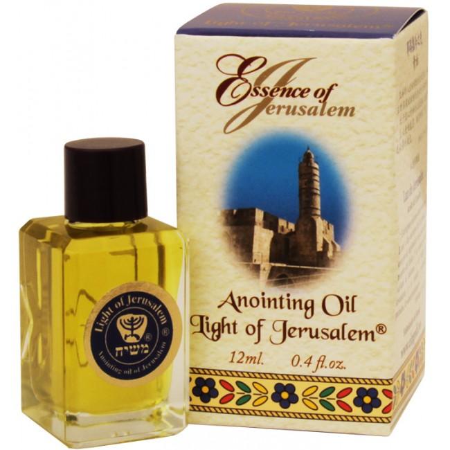Holy 'Essence of Jerusalem' Anointing Oil - Light of ...