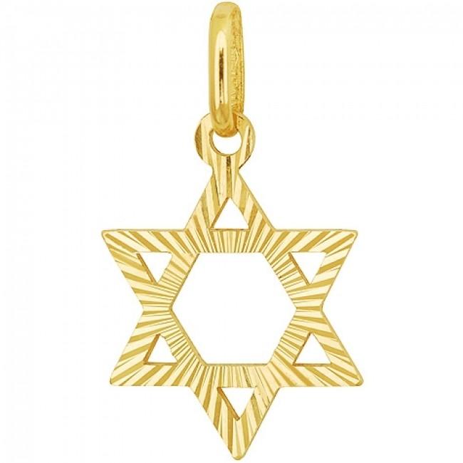 14 carat starburst engraved gold star of david pendant holy 14 carat engraved gold star of david pendant aloadofball Images