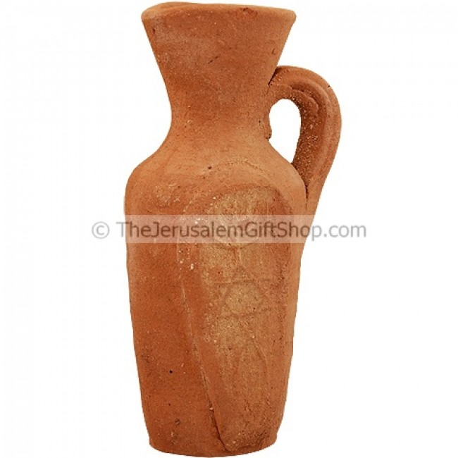 Grafted In Holy Land Messianic Clay Jug Holy Land