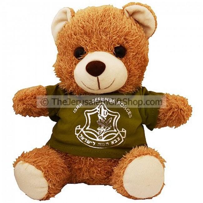 Teddy Bear With Idf Tshirt