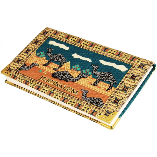 From The Holy Land Embroidered Jerusalem Notepad With