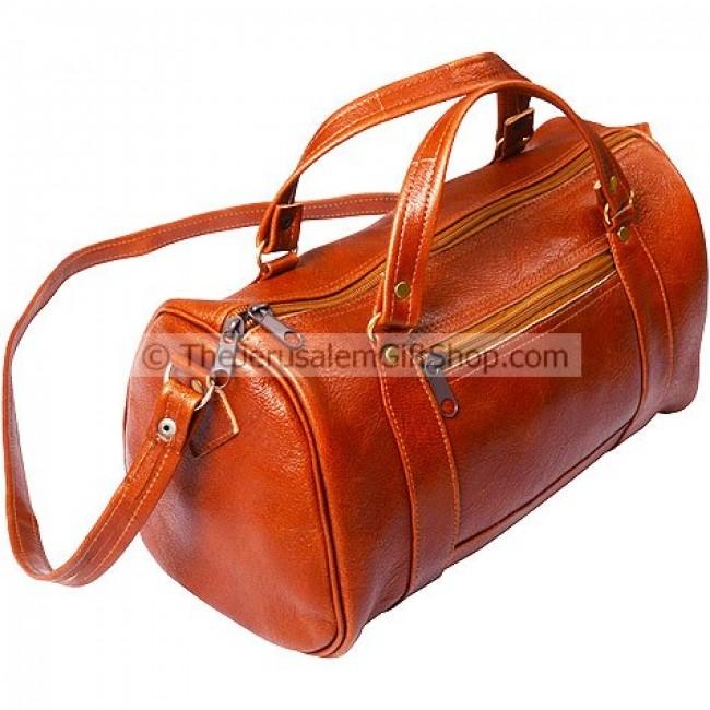 Hand Made in Jerusalem - Leather Ladies Shoulder / Hand Bag - Holy ...
