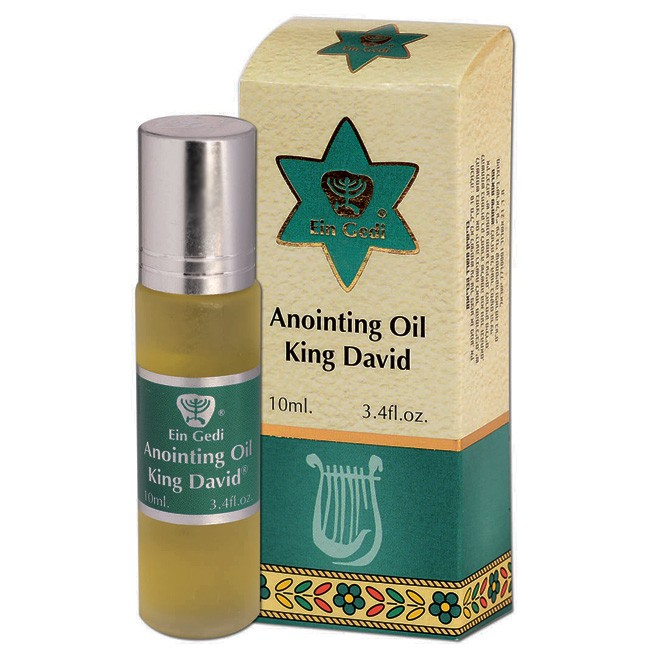Anointing Oil From Israel King David Roll On 10ml