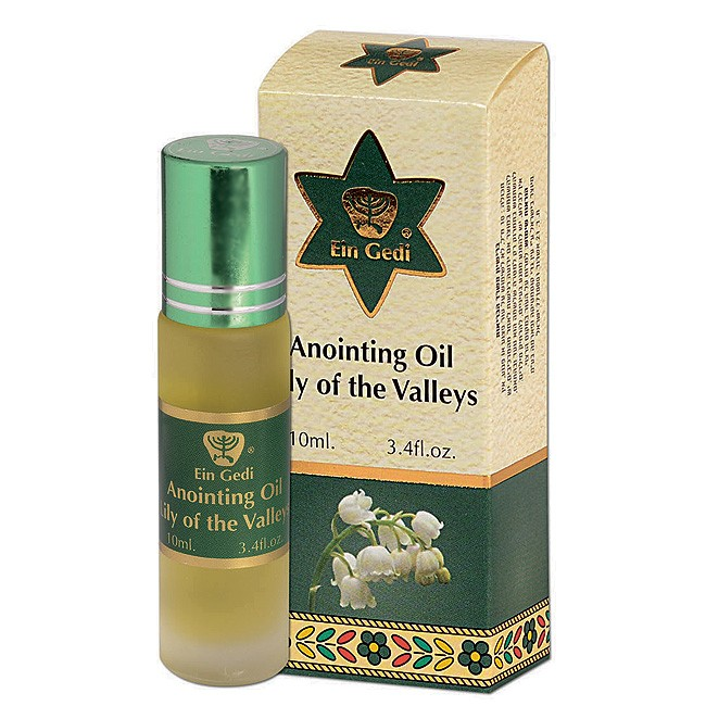Anointing Oil From Israel Lily Of The Valley Roll On