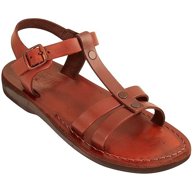 f1e87a5fa545f6 Biblical Camel Leather Sandals - Gideon - Made in Bethlehem