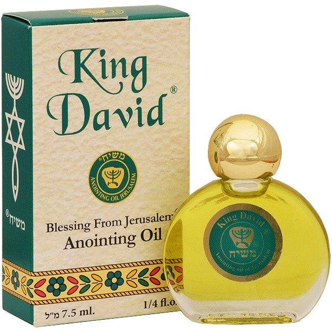 Anointing Oil - King David - Holy Anointing Prayer Oil 7 5 ml - Made in the  Holy Land