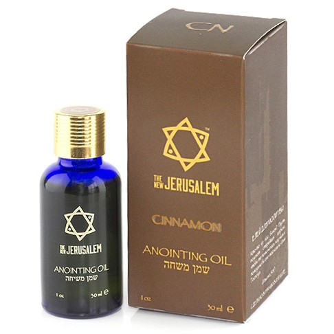 The New Jerusalem Cinnamon Anointing Oil 30ml