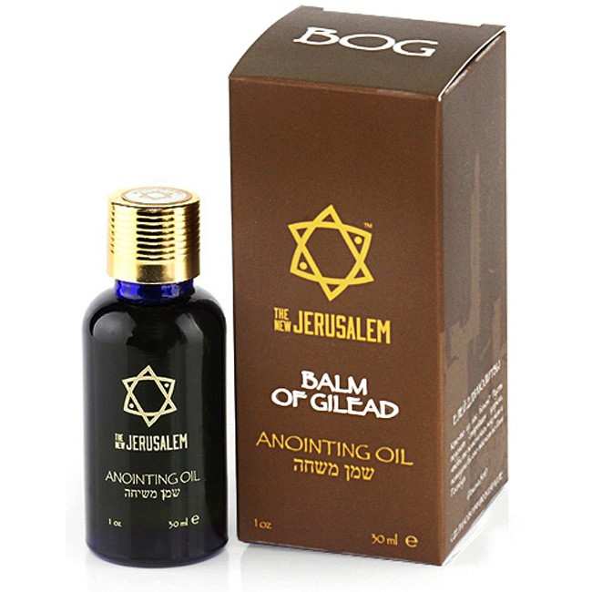 The New Jerusalem Balm Of Gilead Anointing Oil 30ml Holy Land Christian Gifts