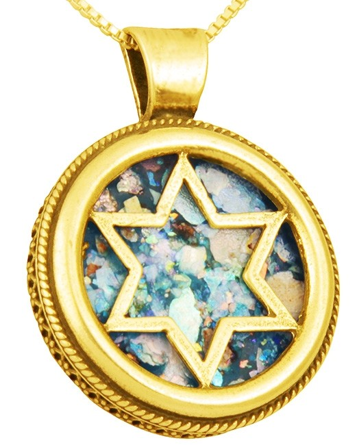 ⚱️ Genuine Ancient Roman Glass Handles Fragments • Pendants From Israel # 14 ⚱️
