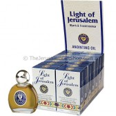 Display Case of 14 x 7.5 ml Light of Jerusalem Anointing Oils