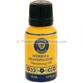 15ml Holy Land Anointing Oil - Frankincense and Myrrh