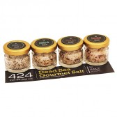 424 Dead Sea Gourmet Salt - Chef's Gift Pack - Exotic