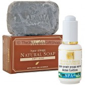 Anti-Acne Natural Dead Sea Soap and HB Acne Lotion