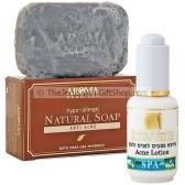 Anti-Acne Natural Dead Sea Soap and HB Acne Lotion