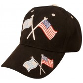 American and Israeli Flags United - Baseball Cap
