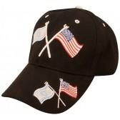 American and Israeli Flags United - Baseball Cap