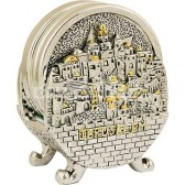 Jerusalem Holy Land Coaster Set
