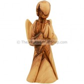 Olive Wood Angel Praying