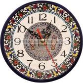 Armenian Ceramic Tabgha Wall Clock