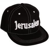 Baseball Cap 'Jerusalem' Black