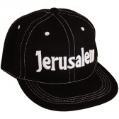 Baseball Cap 'Jerusalem' Black