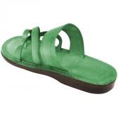Leather Jesus Sandals - Bethlehem Style - Colored