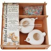 Biblical Clay Lamp Kit