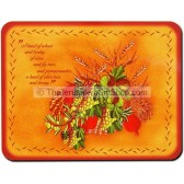Placemat Set Scripture - Seven Species - Deuteronomy 8:8