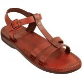 Biblical Camel Leather Sandals - Gideon - Made in Bethlehem