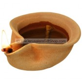 Clay Oil Lamp - Canaanite