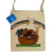 Canvas Shoulder Bag - Noah's Ark