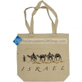 Canvas Shopping Bag - Israel Camels
