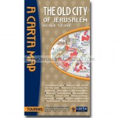 Carta's Map of the Old City of Jerusalem