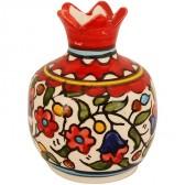 Ceramic Pomegranate - Flowers
