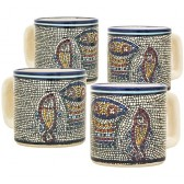 Turkish Coffee Cups Set of 4 - Tabgha