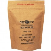 The Jerusalem Roaster Coffee - Decaf House Blend - Shuk Cafe - Roasted in Jerusalem