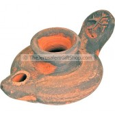 Replica Clay Oil Lamp - Crusader
