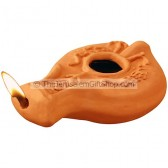 Clay Oil Lamp - Darom - Jewish 70 AD