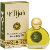Anointing Oil - Elijah - Holy Anointing Prayer Oil 7.5 ml - Made in the Holy Land