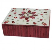 Yair Emanuel Pomegranate Embroidered Jewelry Box