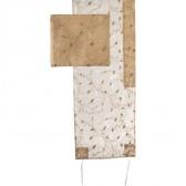 Yair Emanuel   Full Embroidered Organza   'Floral' Prayer Shawl Tallit Set - Gold