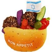 Fridge Magnet - Israeli Falafel
