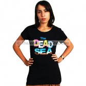Ladies Dead Sea T-Shirt - Black