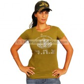 Ladies - Girls IDF T-Shirt and Army Cap