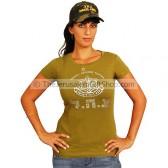 Ladies - Girls IDF T-Shirt and Army Cap