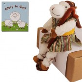 Biblical Dress 'Glory to God' Shepherd of the Sheep Stuffed Fun Toy