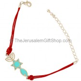 Grafted In Bracelet - Red