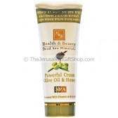 Powerful Cream with Olive Oil and Honey